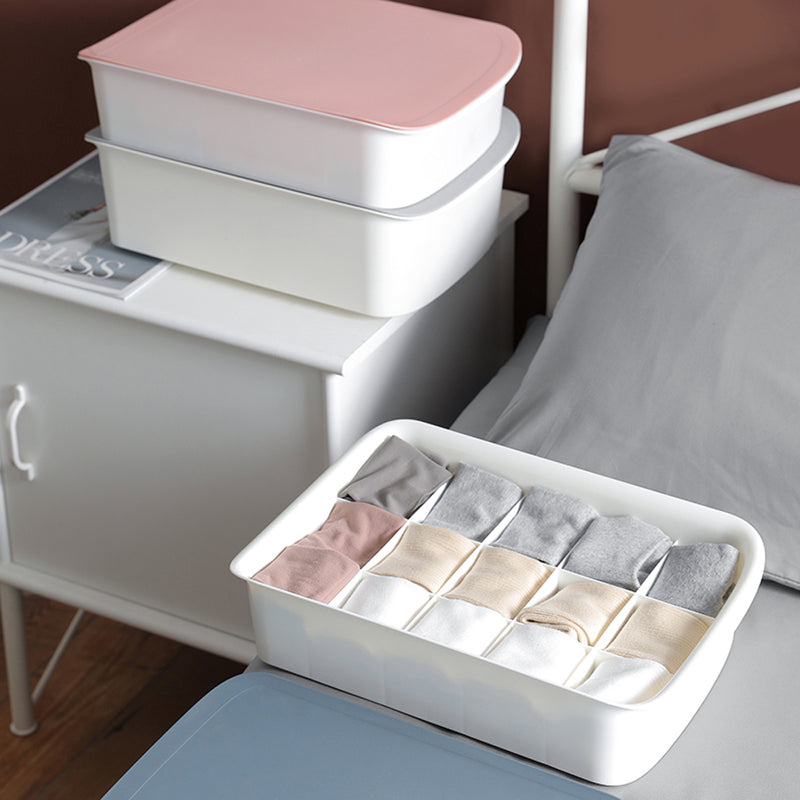 Edelvey Socks Underwear Organizer Storage Box with Lid