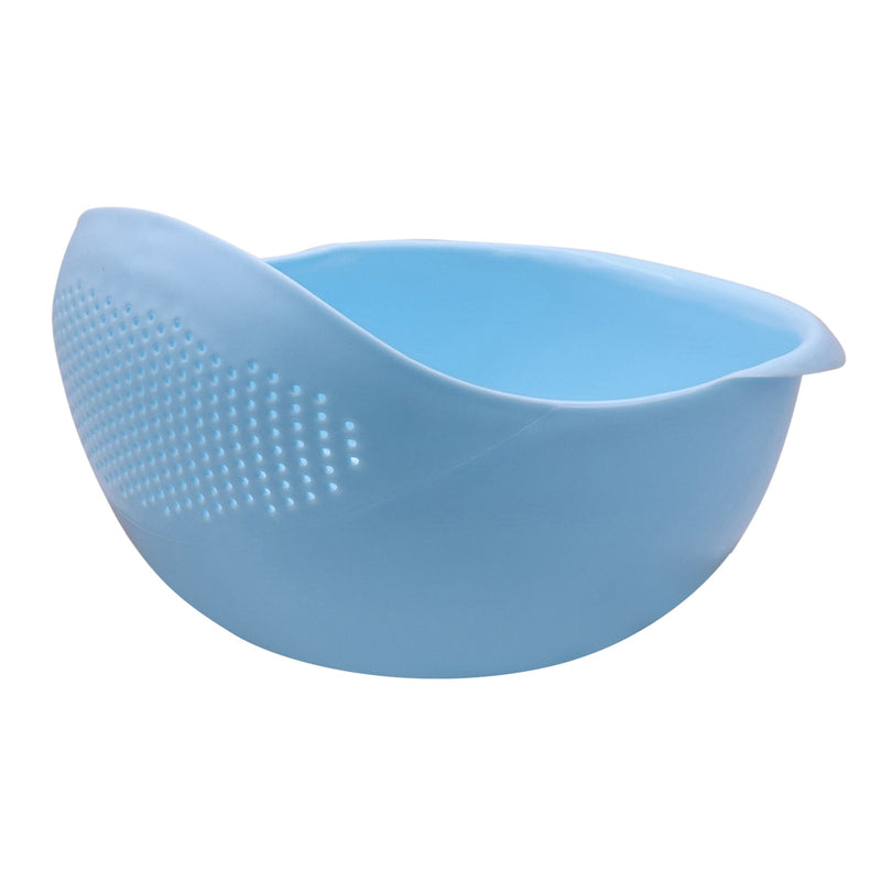 Edelvey Rice Washer Colander Strainer Bowl for Pasta Fruits Vegetables