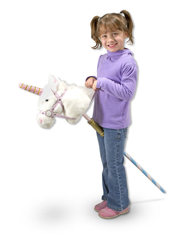 Prance-N-Play Stick Unicorn-Stuffed Animals - Oxemize.com