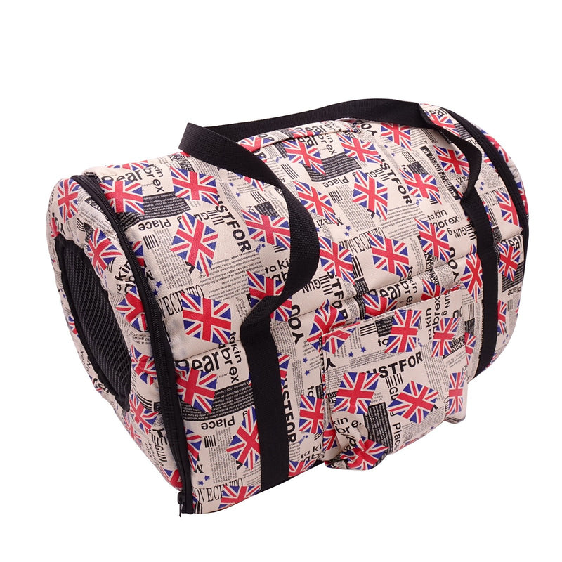 Soft Sided Pet Carrier Bag Airline Approved Comfortable Collapsible and Escape Proof for Small Dogs, Cats, Puppy