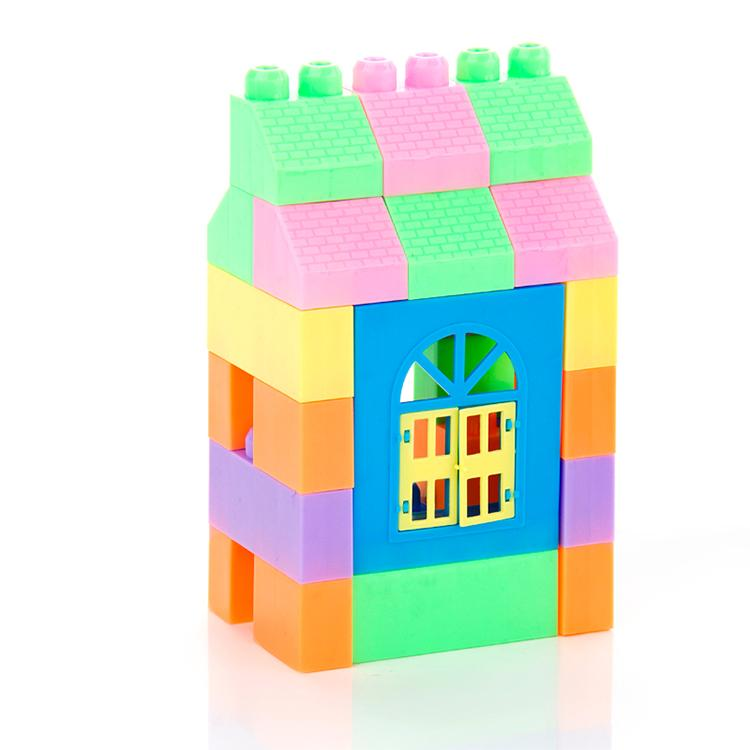 veZve Smart 68 Pieces Classic Building Blocks Construction Toys Educational In Bucket Set For 3+ Year Old Boys & Girls