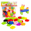 veZve Unique Alternative to Building Blocks 58 Pieces Construction Toys Set For 3+ Year Old Boys & Girls Game Kit Solo Or Group Activity