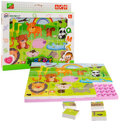 veZve Jigsaw Animals Puzzle Educational Creative DIY Toys Set 49 Pcs For Kids Age Over 3 Years Old
