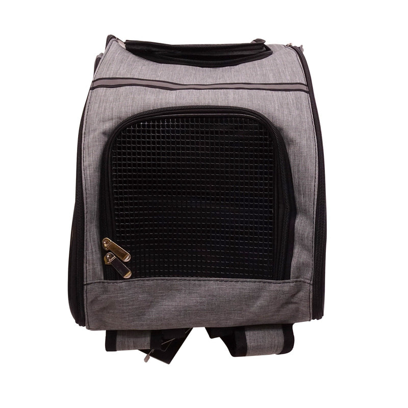 Shoulder Carrier Bag Mesh Durable Ventilated Backpack Breathable Travel Design For Puppies Cat Small Animals Most Airline Approved