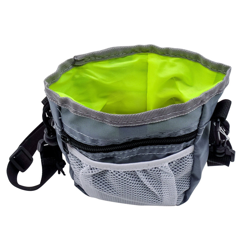 Dog Training Pouch Pet Bag Built-in Poop Bag Dispenser For Small To Large Dogs Training Reward Walking Shoulder Strap Carry Toys Tote