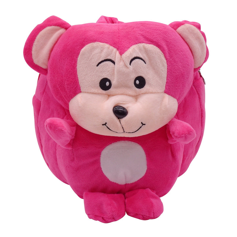 veZve Plush Animal Kids Backpack for Toddler Girl 3 to 5 Years Old, Mouse