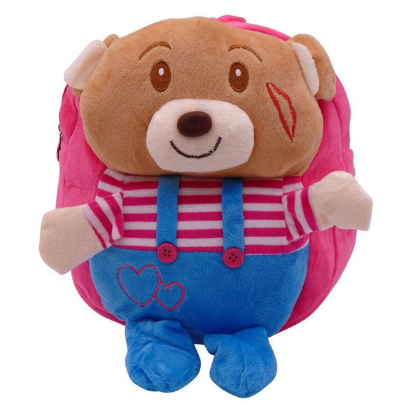 veZve Plush Animal Kids Backpack for Toddler Girl 3 to 5 Years Old, Teddy Bear