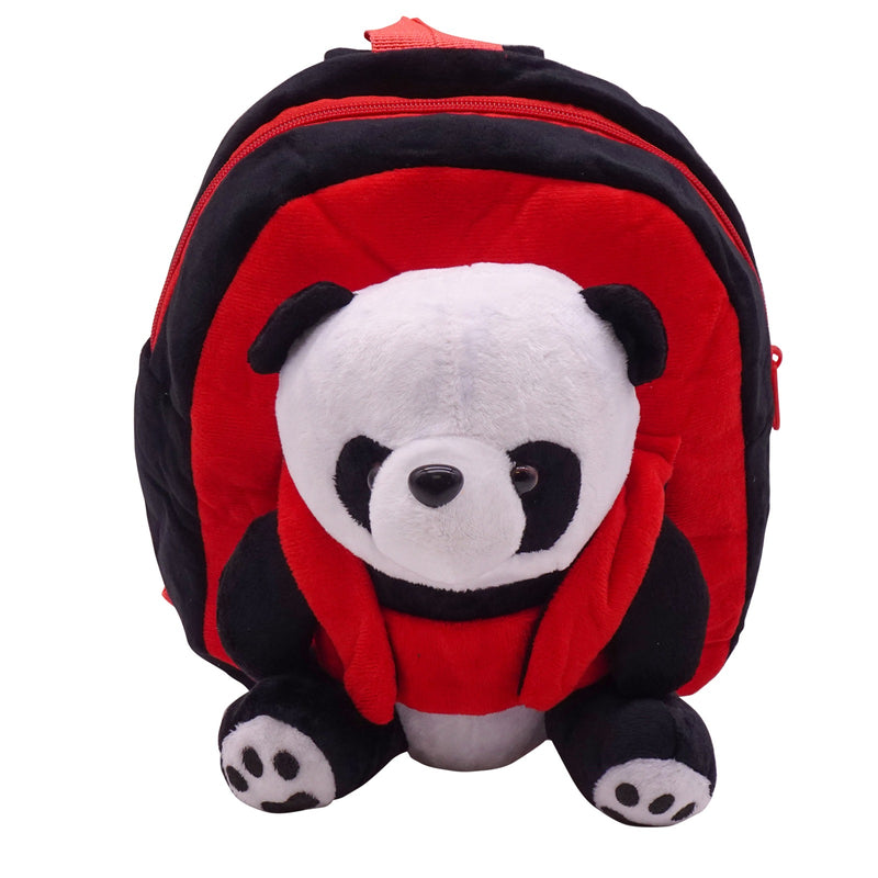 veZve Plush Animal Kids Backpack for Toddler Girl 3 to 5 Years Old, Panda Bear