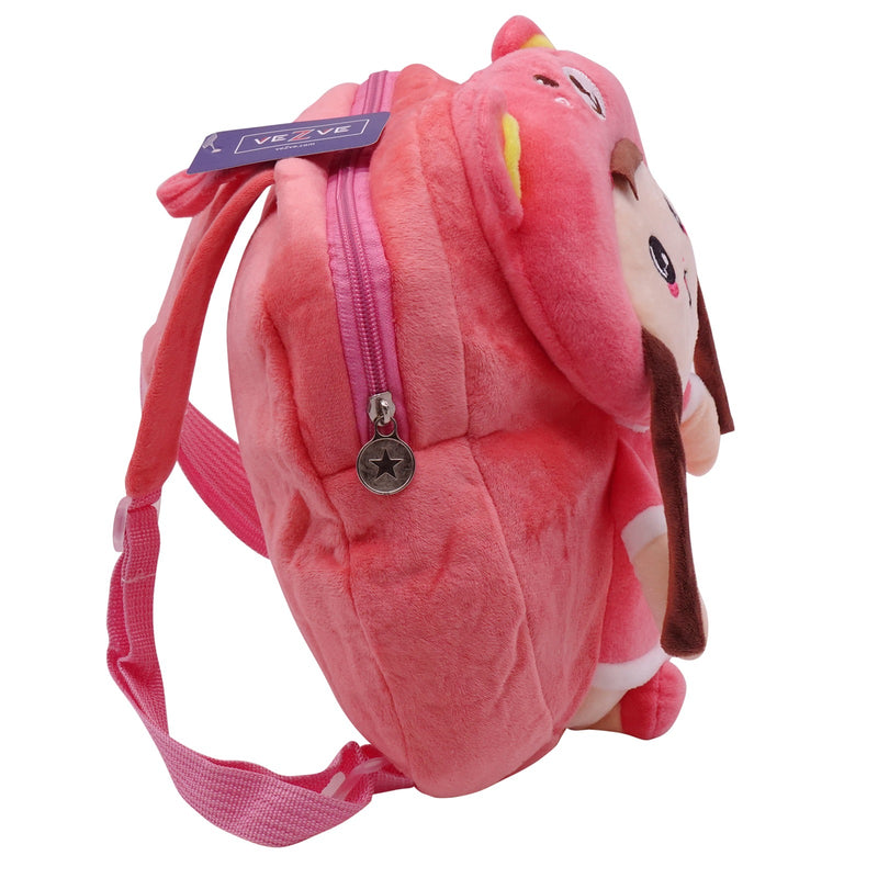 veZve Plush Animal Kids Backpack for Toddler Girl 3 to 5 Years Old, Doll4