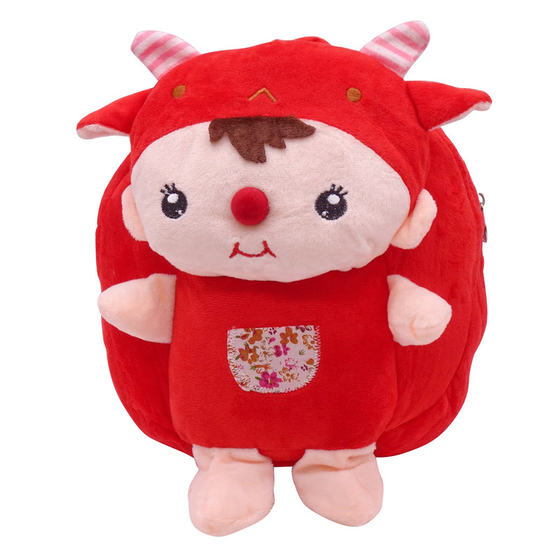 veZve Plush Animal Kids Backpack for Toddler Girl 3 to 5 Years Old, Clown