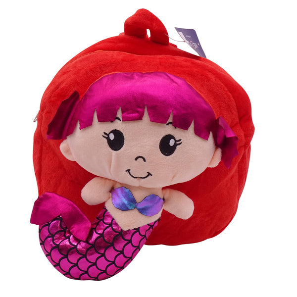 veZve Plush Animal Kids Backpack for Toddler Girl 3 to 5 Years Old, Doll