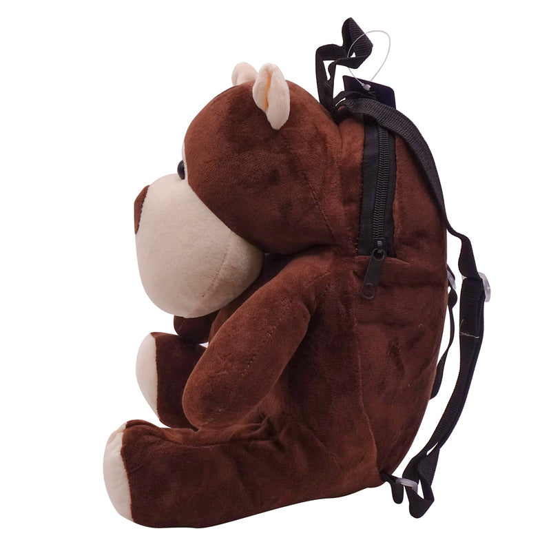 veZve Plush Animal Kids Backpack for Toddler Girl 3 to 5 Years Old, Bear