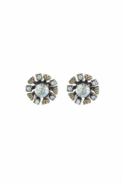 DT053E - Statement Crystal Earrings - Classic