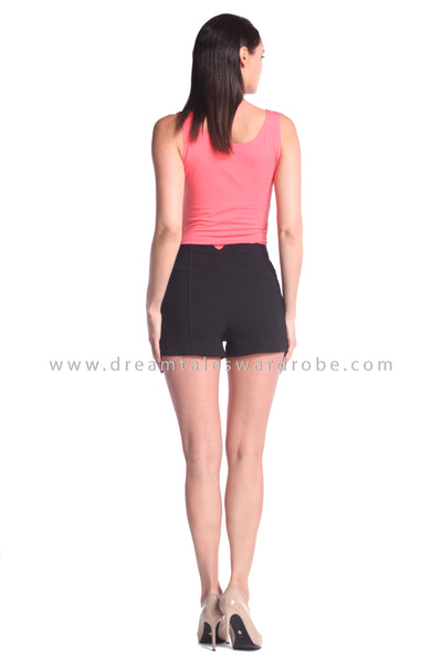DT1017 Sleeveless Cotton Top - Orange