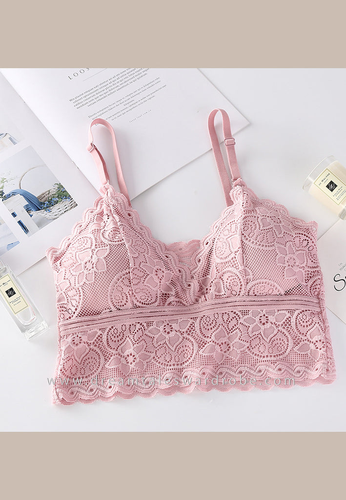 DTB104 LC Crop Top Bra - Pink