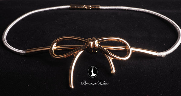 DT013A Ribbon Belt - Silver