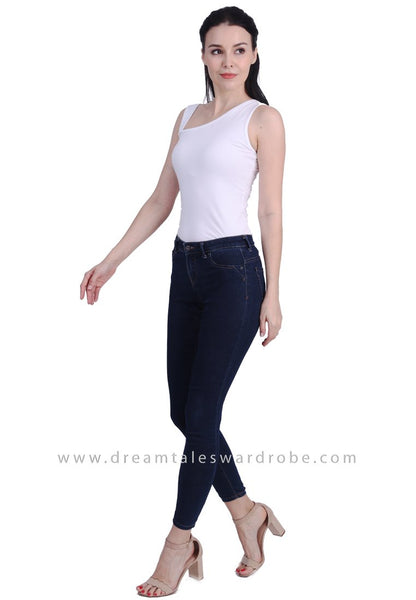 DT1738 Asymmetric Top -  White