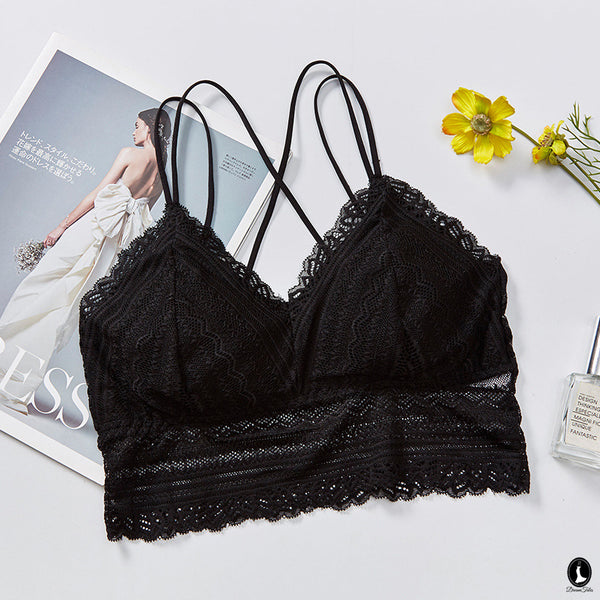 DTB109 LC Crop Top Bra - Black