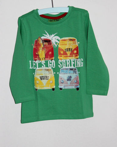 "T-shirt ""let's go surfing"""
