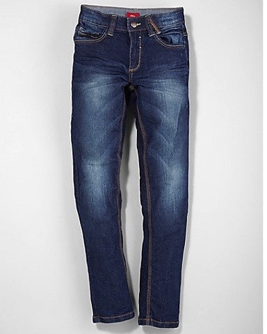 Jeans Seattle: donkere stretchjeans