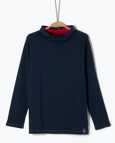 SOLIVER LONG SLEEVE BLAUW 31.8716