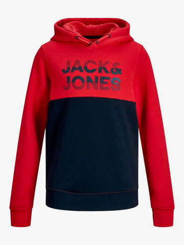 jack and jones hoodie rood junior 12167673