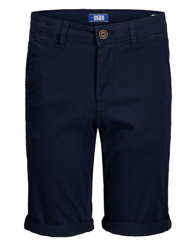 jack and jones junior short blauw 12172213