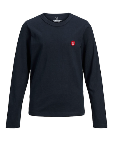 jack and jones long sleeve blauw junior 12173888