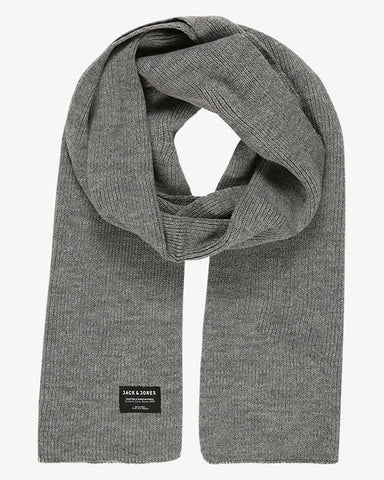 jack and jones sjaal grijs