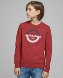 jack and jones sweater 12167674 rio red junior