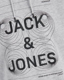 jack and jones sweater hoodie grijs 12177792
