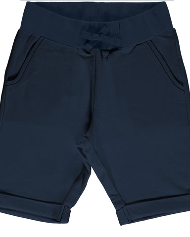 maxomorra short blauw Sweatshorts NAVY