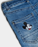 name it jeans xlsim mickey mouse 13178794 Medium Blue Denim jongen