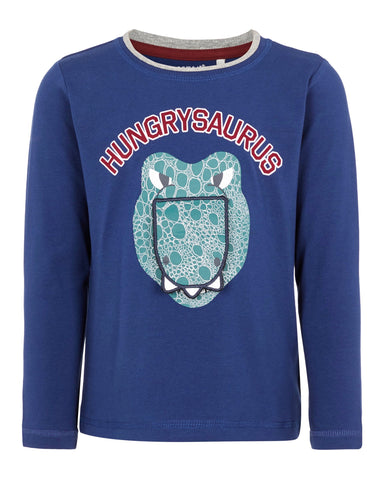 name it long sleeve dino blauw 13168969