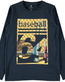 name it long sleeve nkmorryson blauw baseball 13169540