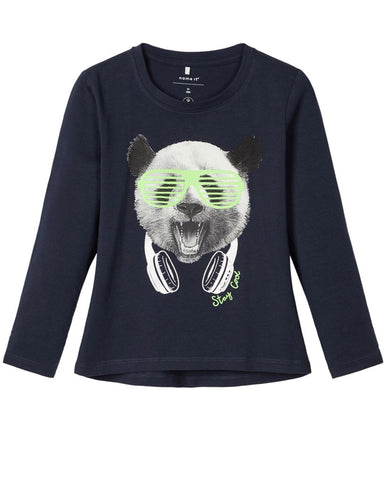 name it long sleeve panda 13173187