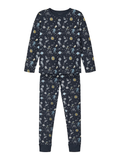 name it pyjama space blauw ruimte 13190225 organisch