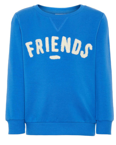 nameit sweater friends blauw