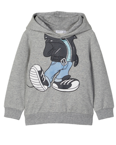 name it sweater grijs mickey mouse 13183356