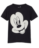 name it t-shirt mini mickey mouse 13182346 black zwart