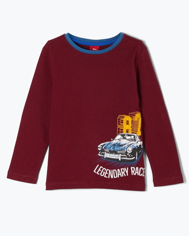 soliver-long sleeve legendary race bordeaux 31.2481
