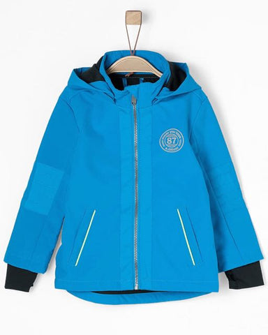 soliver softshell blauw windstopper jas