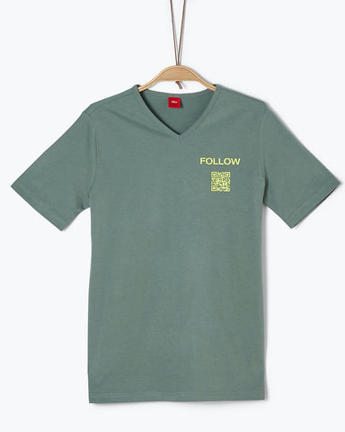 soliver tshirt groen junior 5861