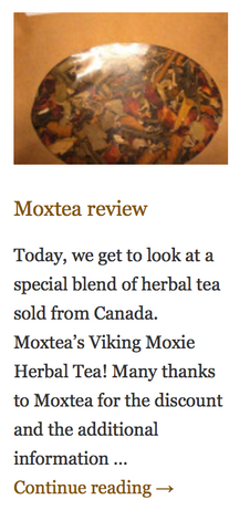 MoxTea - Land of Infusion Blog Review