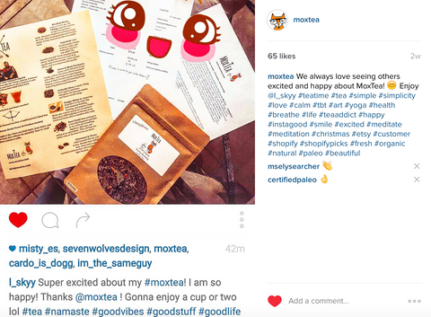 MoxTea - Viking Herbal Energy Tea - Happy Customers