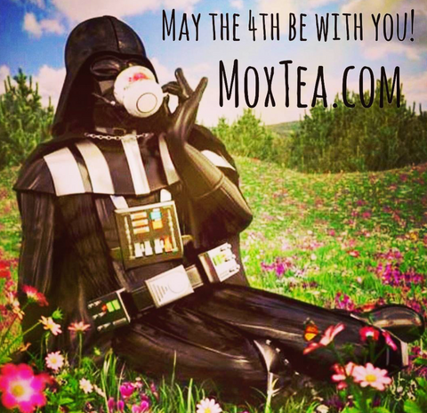 May the 4th be with you! From MoxTea :)