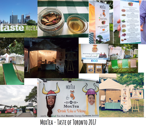 MoxTea at Taste of Toronto 2017