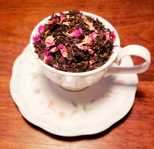 Fruity Moxie MoxTea - Black Currant Fruit tea with Rose