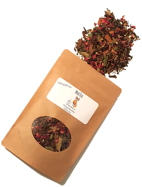 MoxTea - 100% Natural Herbal Tea that Boosts Energy and Lowers Anxiety