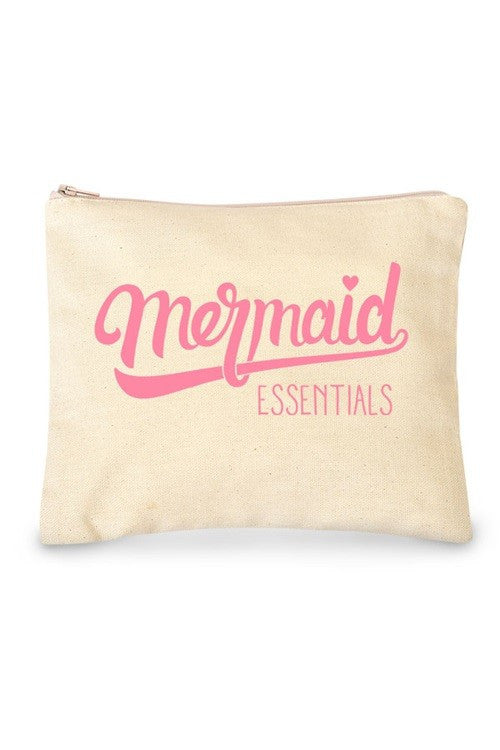 Mermaid Essentials Makeup or Cosmetic Bag - Katydid.com